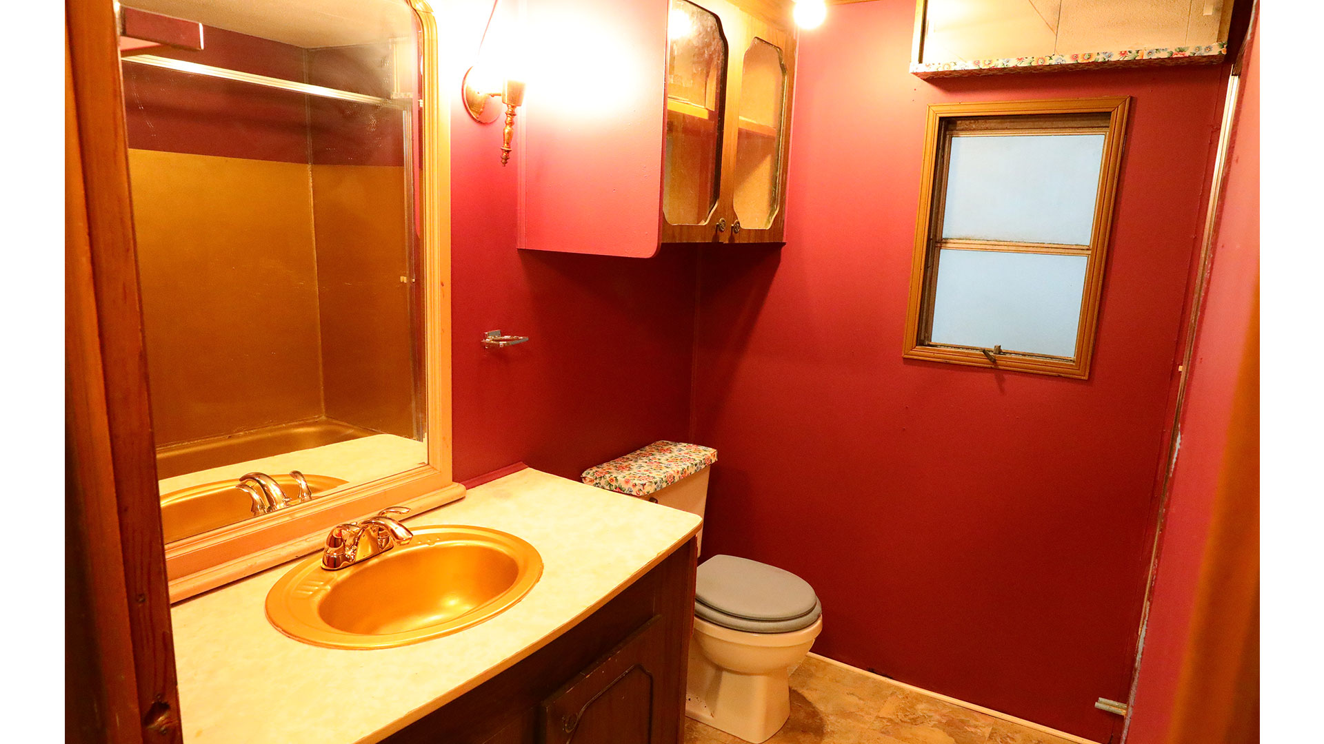 Elvis Presley Mobile Home Auction Bathroom