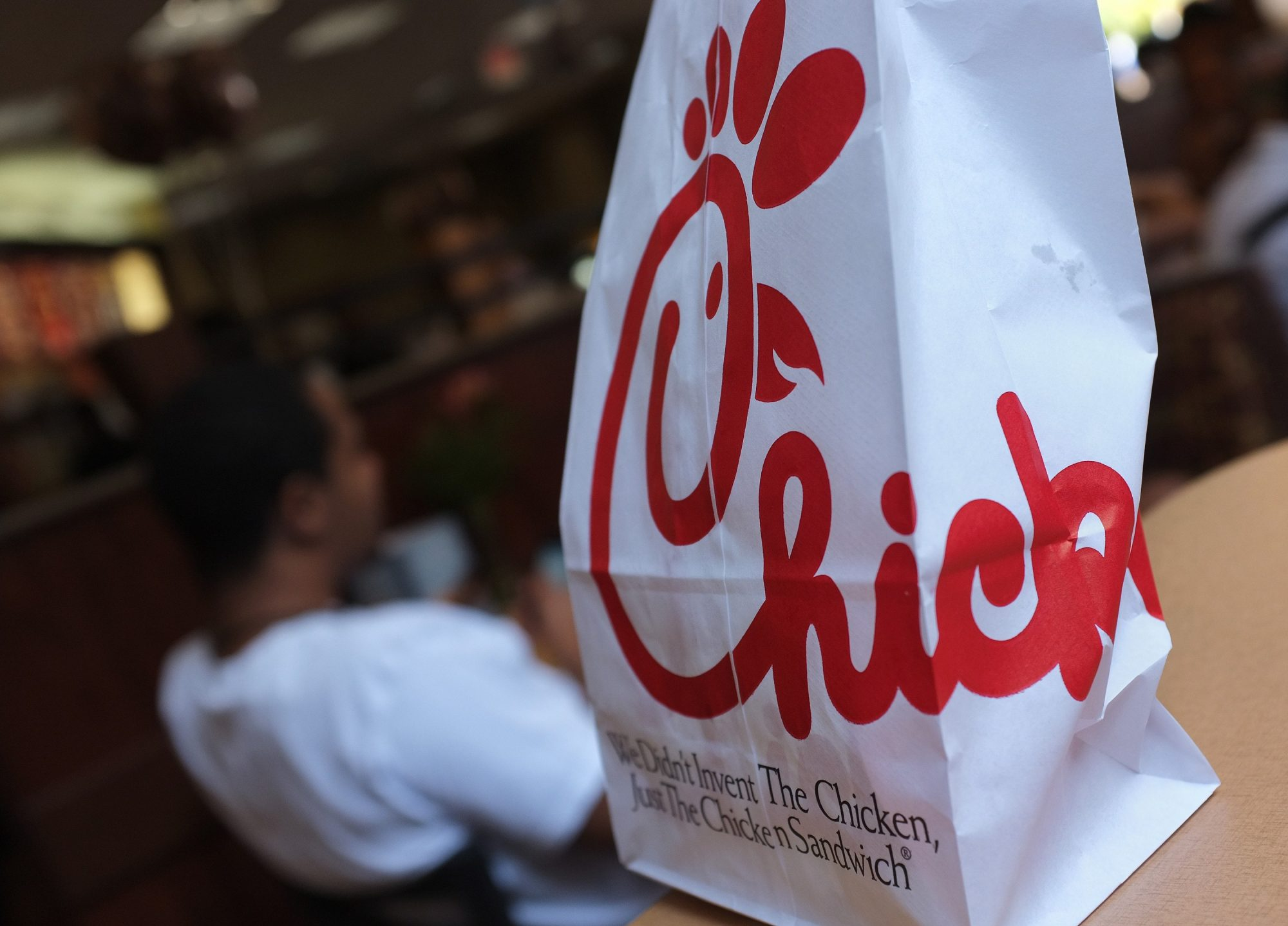 Chick-fil-a Bag Logo