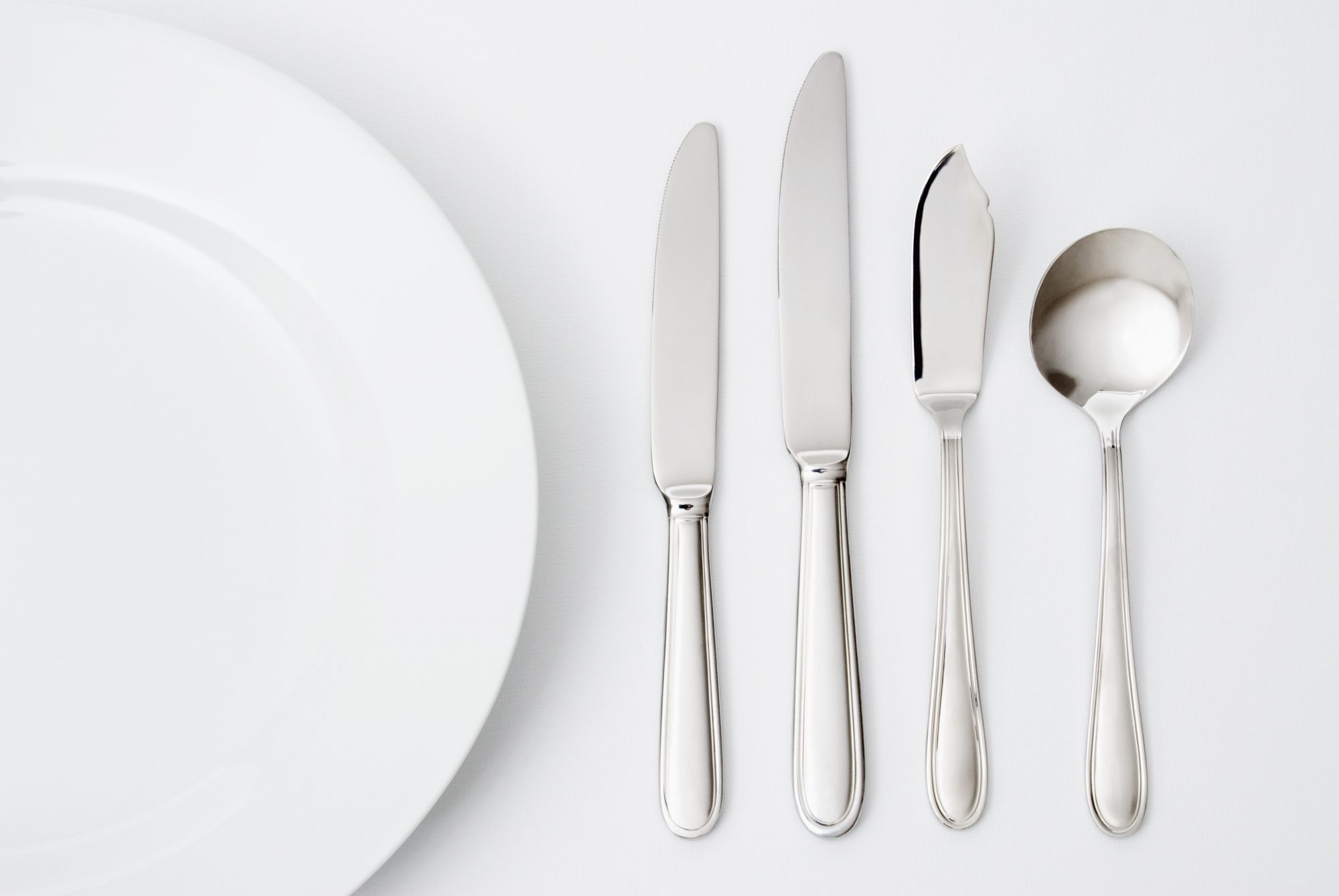Silverware Table Setting