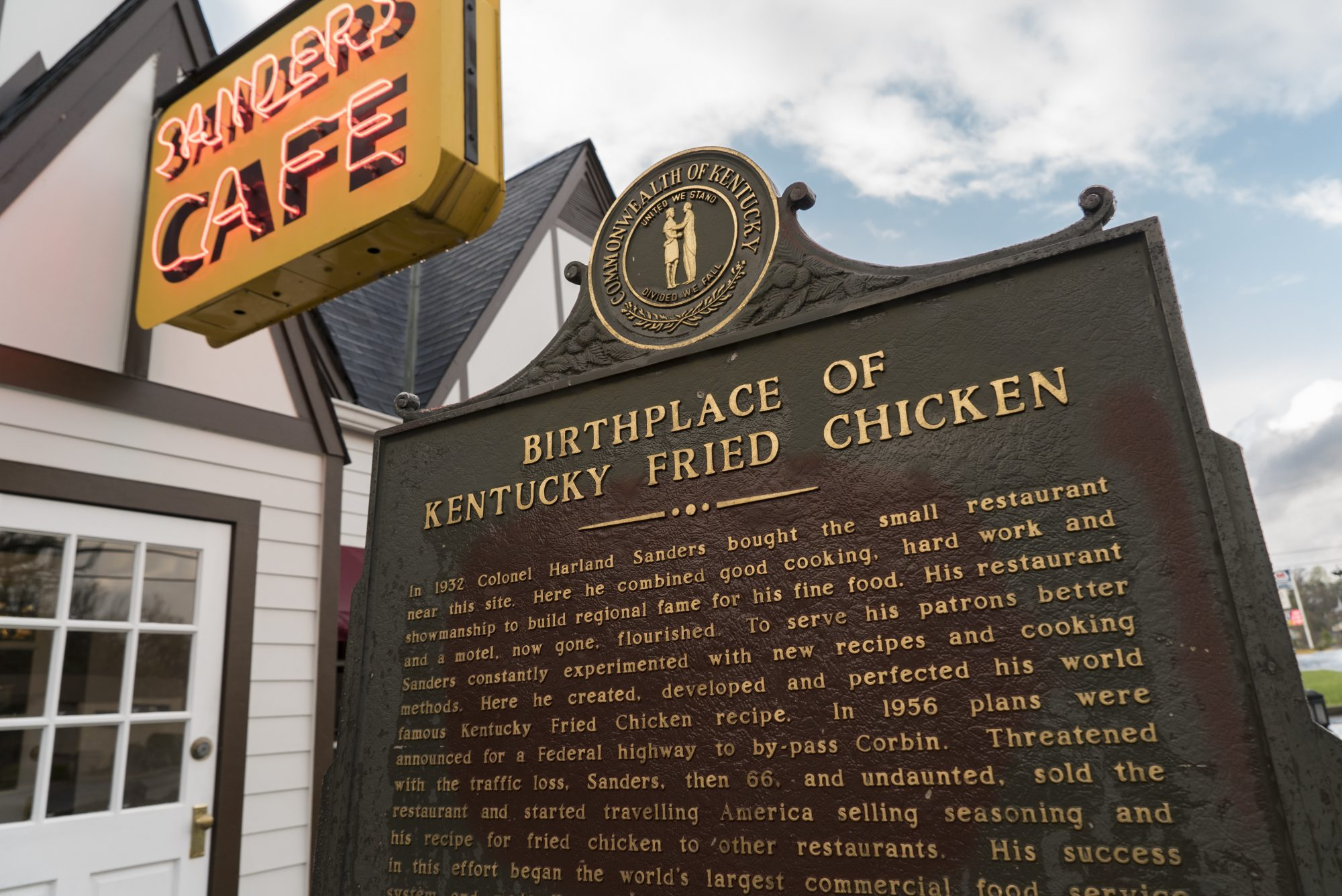 this is where the original kentucky fried chicken recipe was created