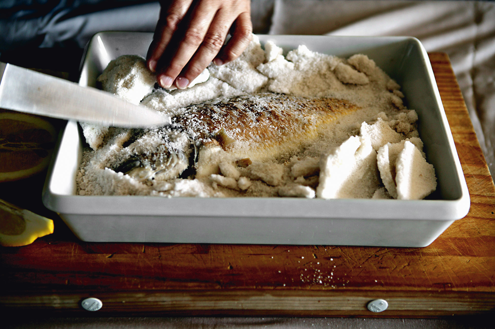 How to Salt Bake a Whole Fish
