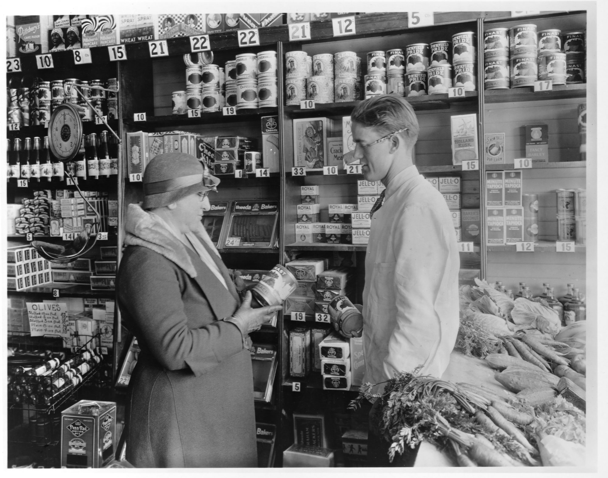Grocer and Shopper in 1925