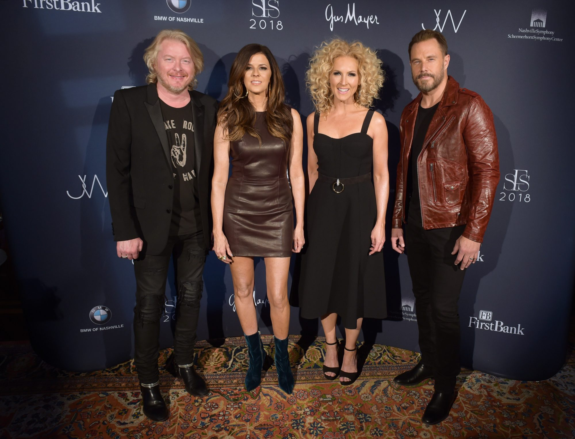 Little Big Town Group Photo