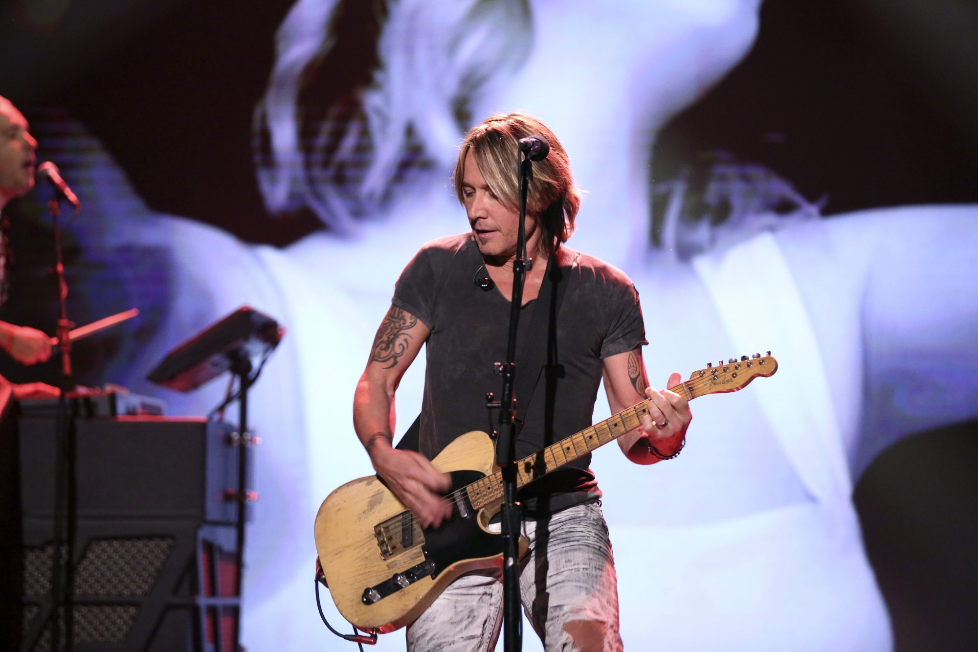 Keith Urban on Jimmy Fallon
