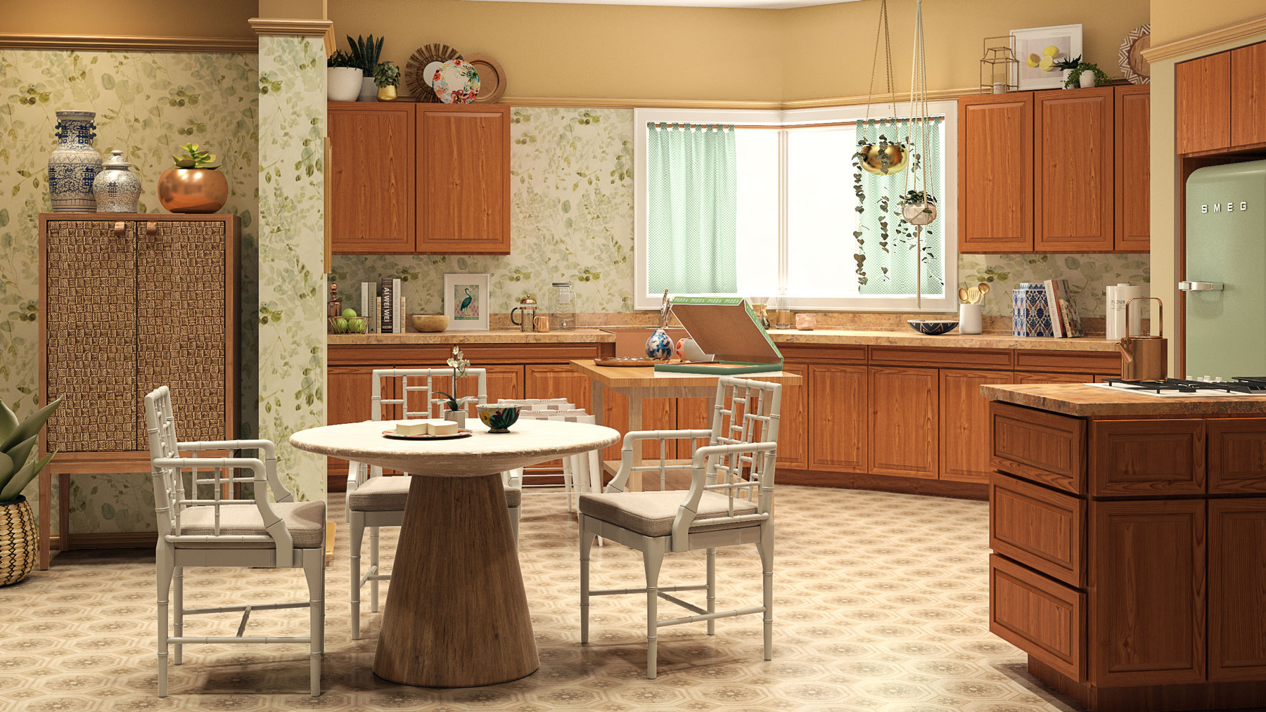 The Golden Girls House Updated - Kitchen