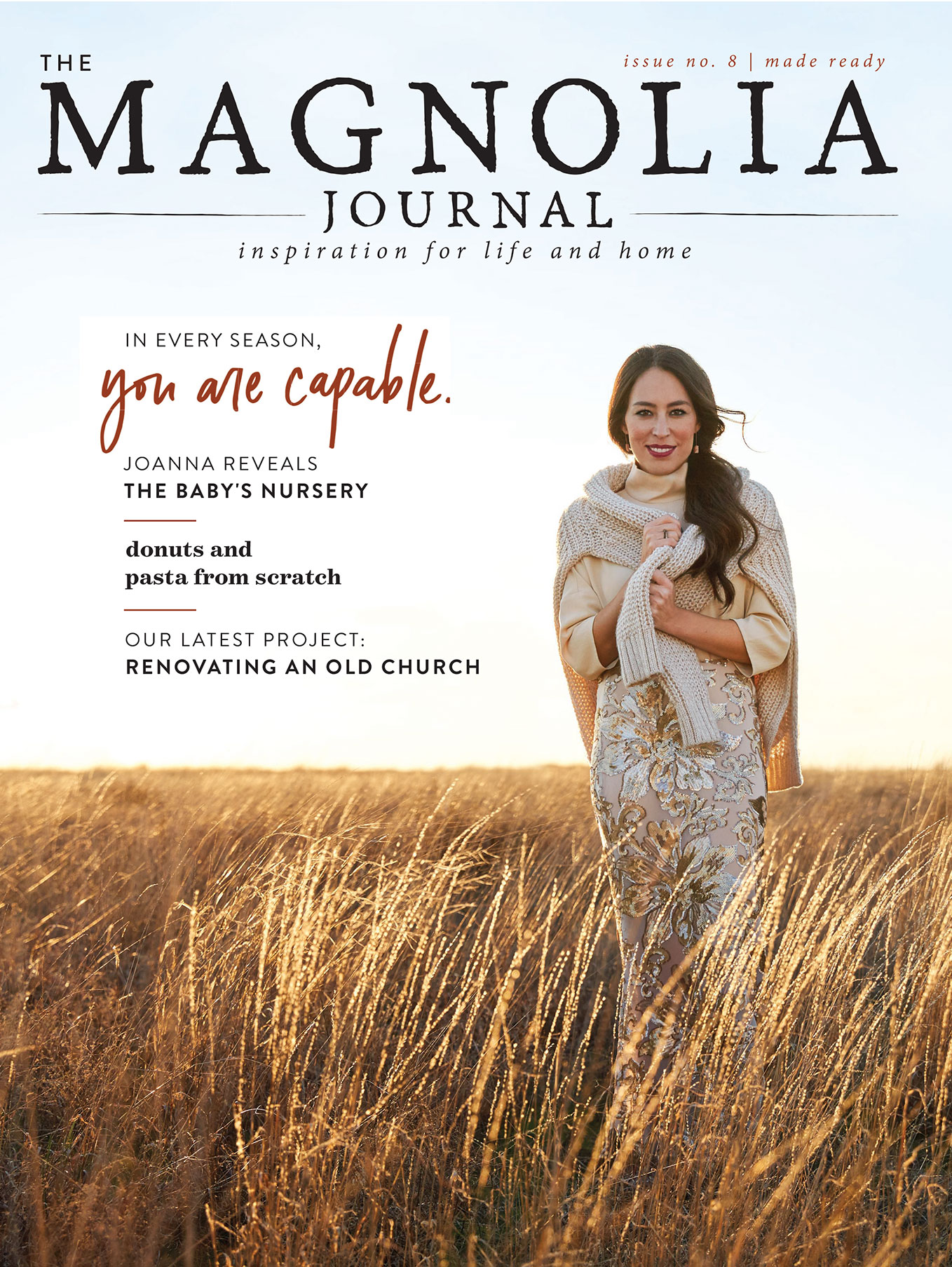 Joanna Gaines Says Surprise Pregnancy at 40 Was 'a Gift': 'I Truly Thought I Was Done'