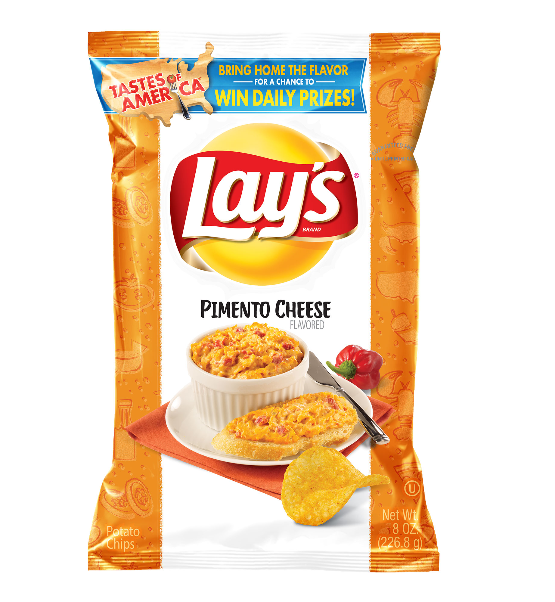 Lay's Introduces 8 New Potato Chip Flavors Inspired by 'Local Cuisine' in America—and We Tried Them All lays-4