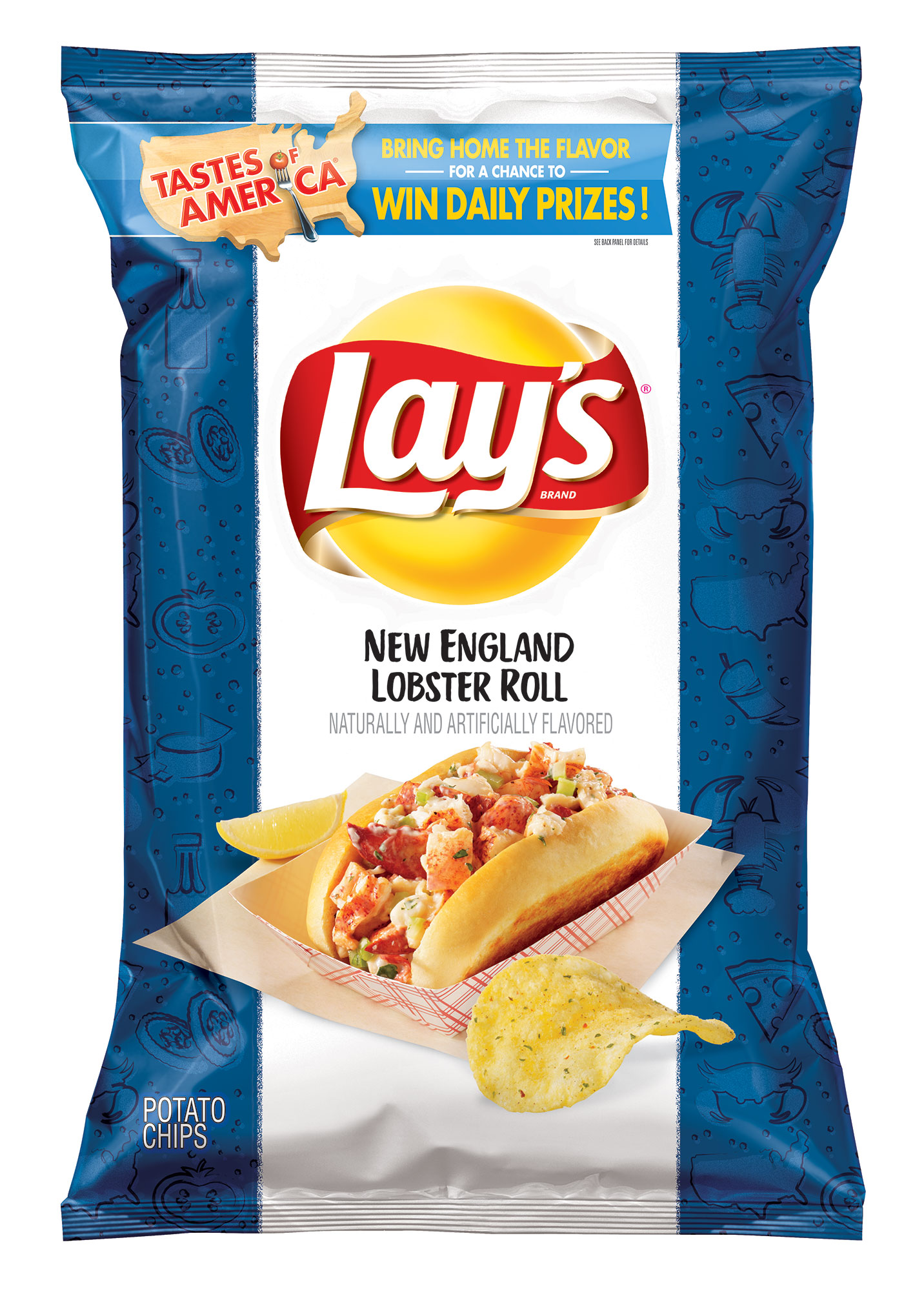 Lay's Introduces 8 New Potato Chip Flavors Inspired by 'Local Cuisine' in America—and We Tried Them All lays-6