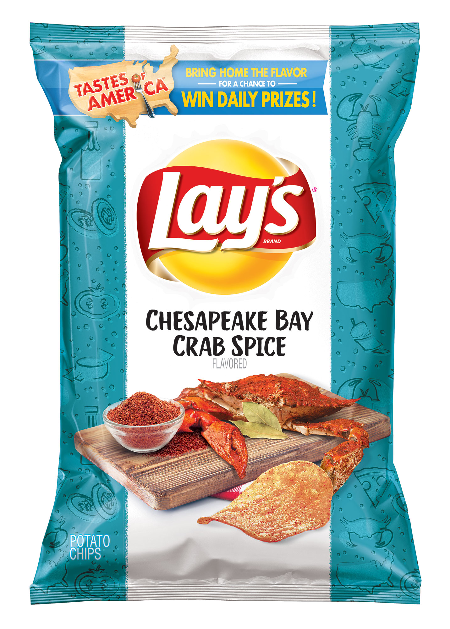 Lay's Introduces 8 New Potato Chip Flavors Inspired by 'Local Cuisine' in America—and We Tried Them All lays-7