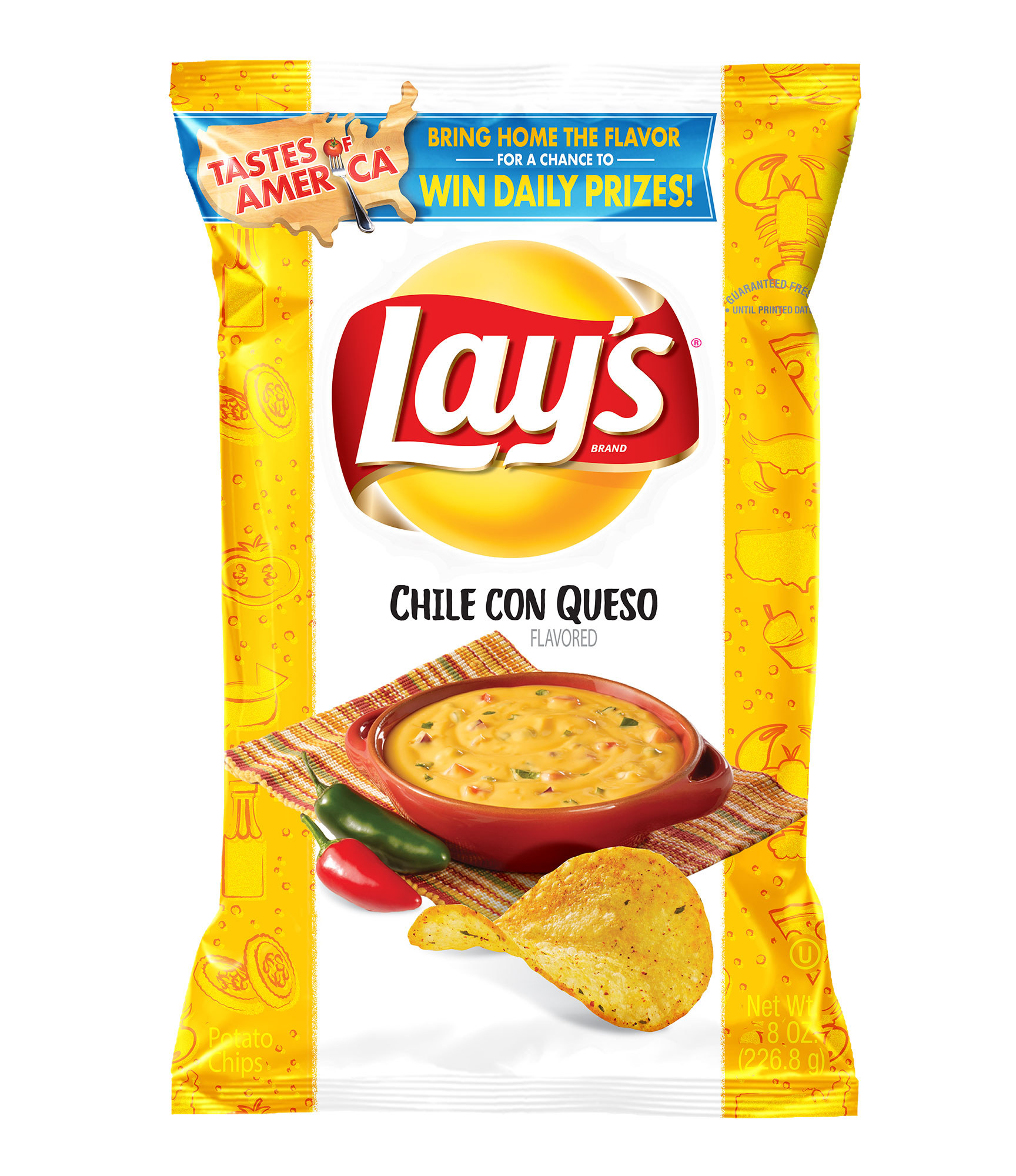 Lay's Introduces 8 New Potato Chip Flavors Inspired by 'Local Cuisine' in America—and We Tried Them All lays-8