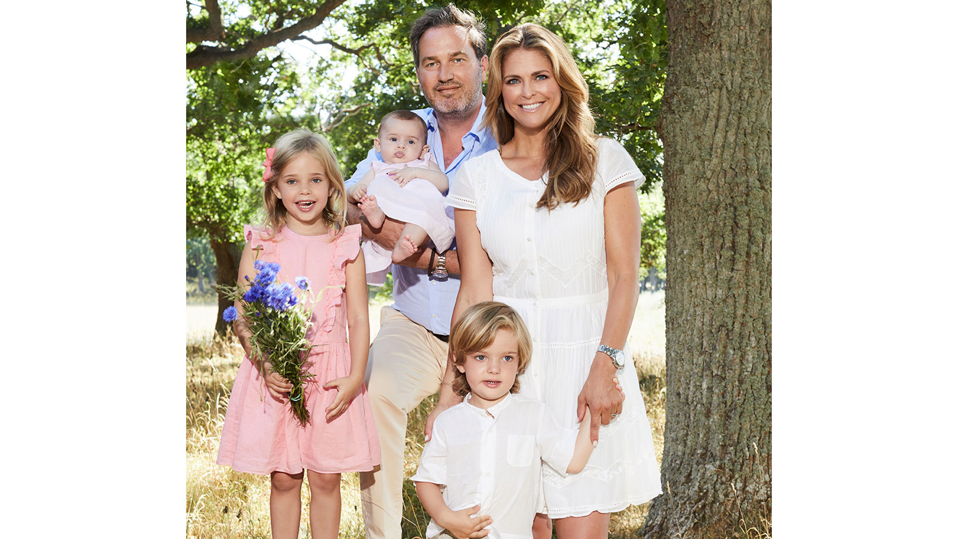 Princess Madeleine of Sweden and Family