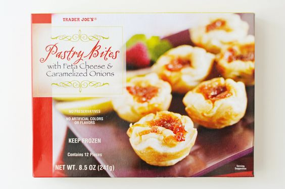 Pastry Bites with Feta Cheese & Caramelized Onions