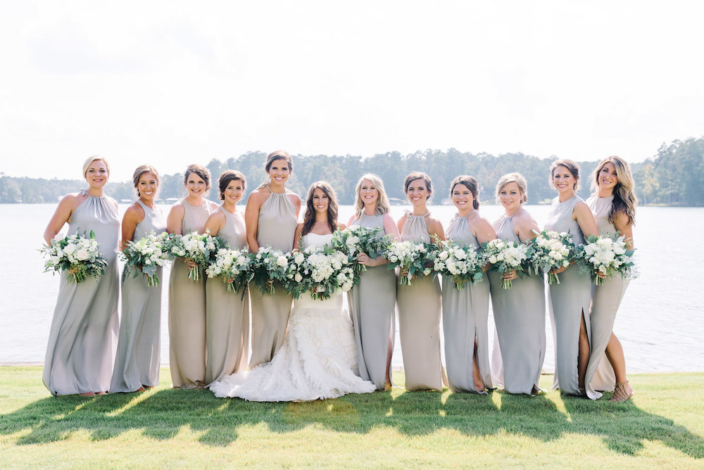 Bridesmaids by the Lake