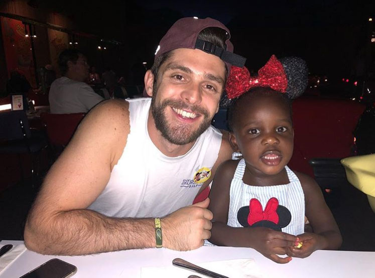 Thomas Rhett Says Daughter Willa, 2½, Is 'Having Full-On Conversations' and 'Smarter Than' Him