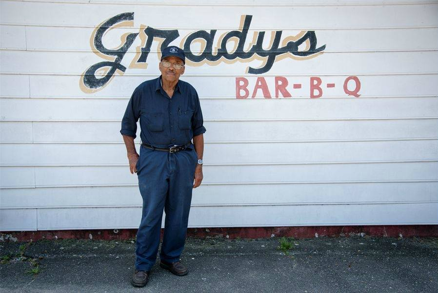 Grady's Barbecue in Dudley, NC