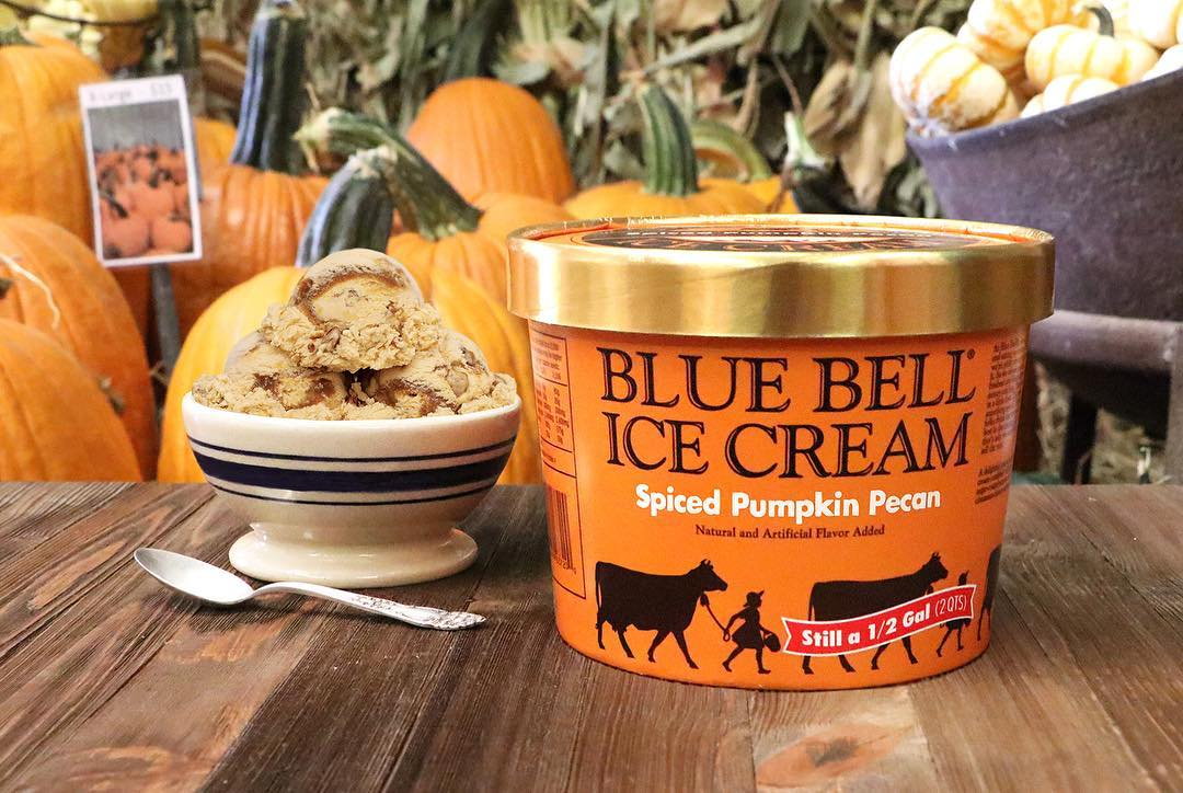 Blue Bell Spiced Pumpkin Pecan