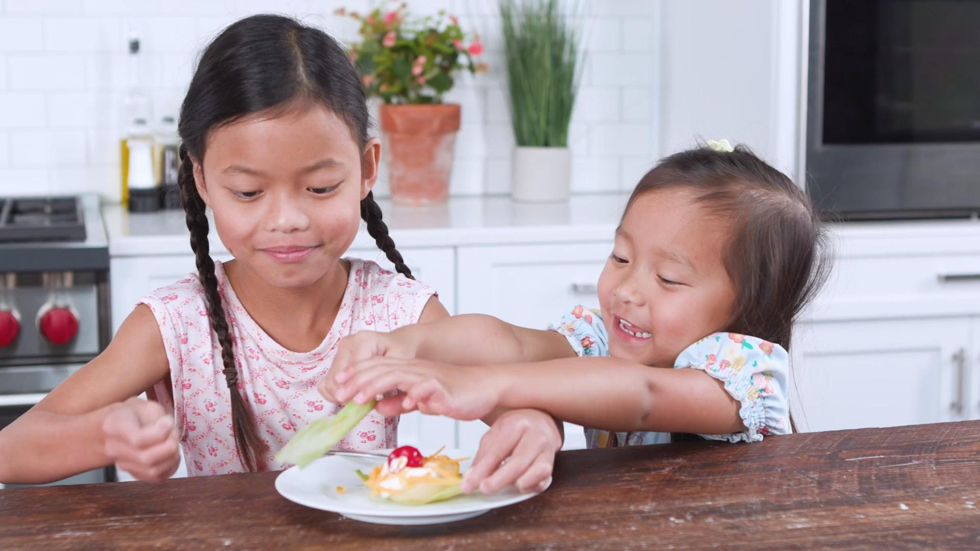 Southern Kids React to Pear-Mayo Salad