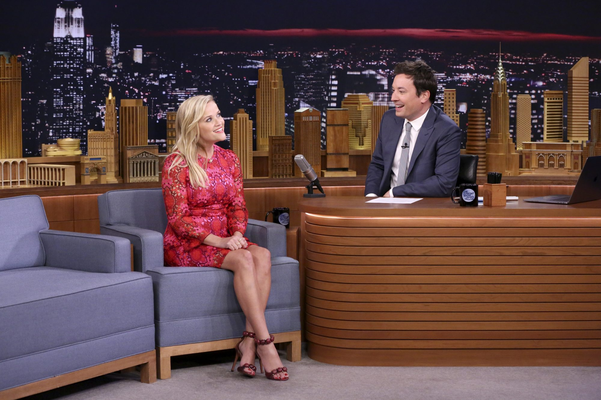 Reese Witherspoon on Jimmy Fallon 2017