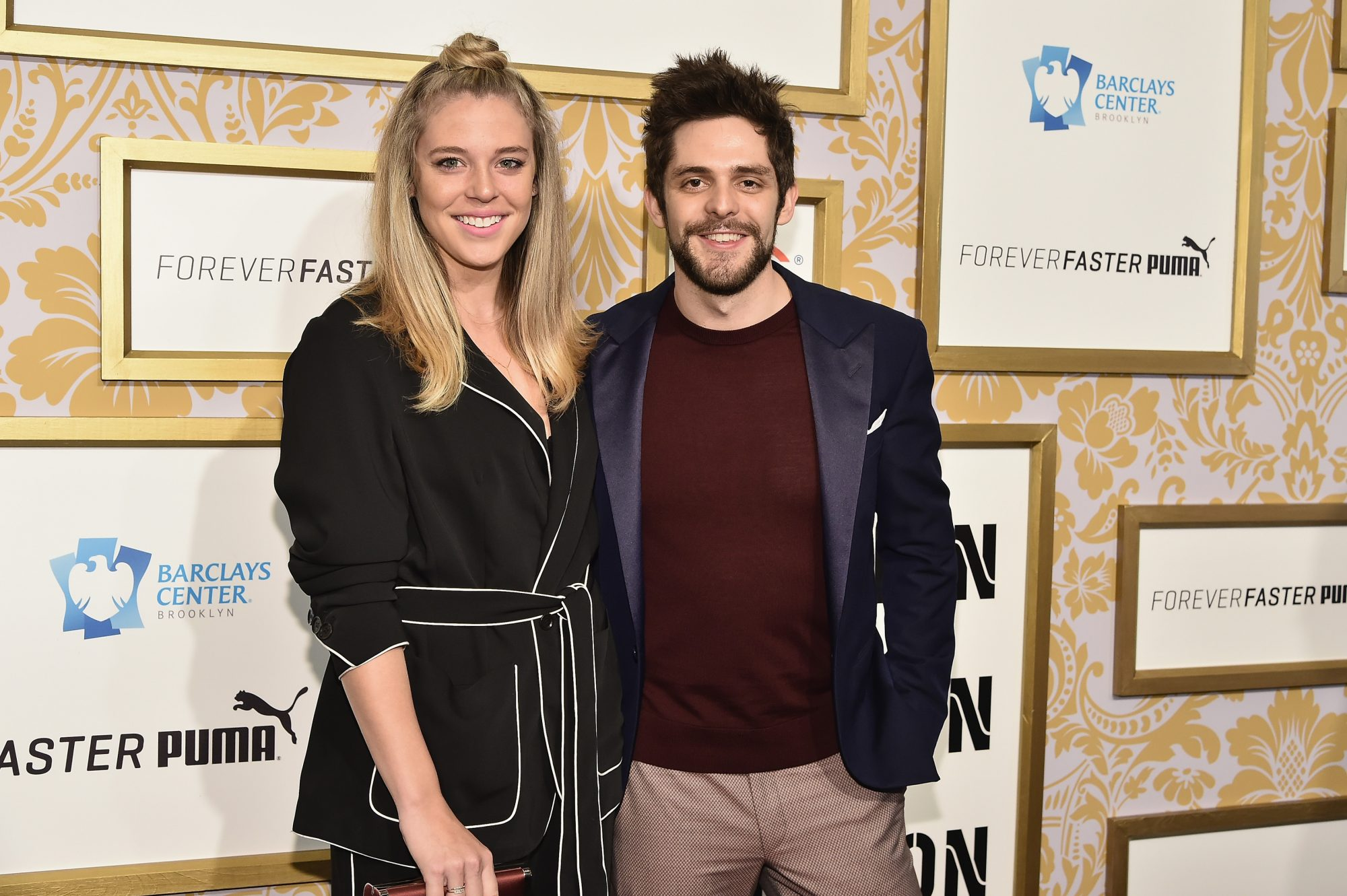 Thomas Rhett and Lauren Akins