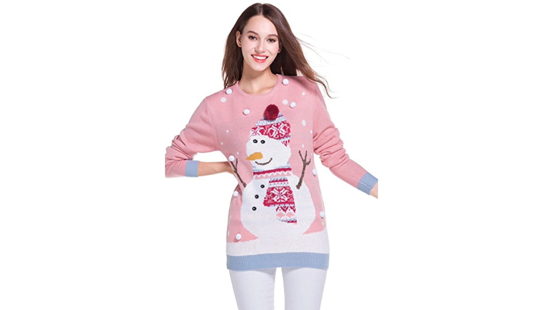 Girly Snowman Sweater