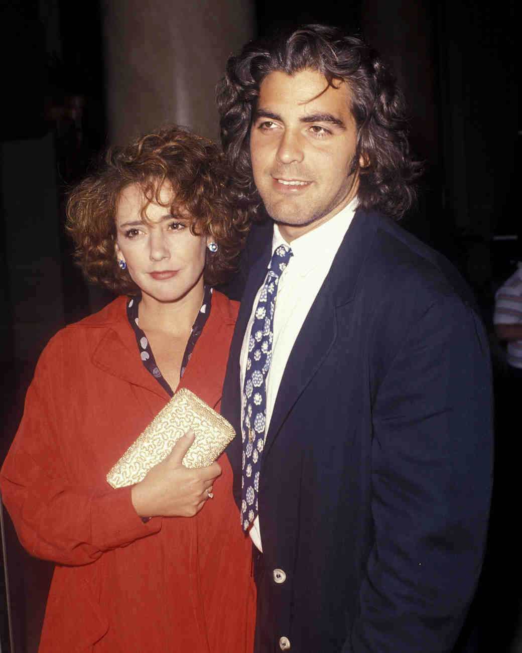 1989: George Clooney and Talia Balsam