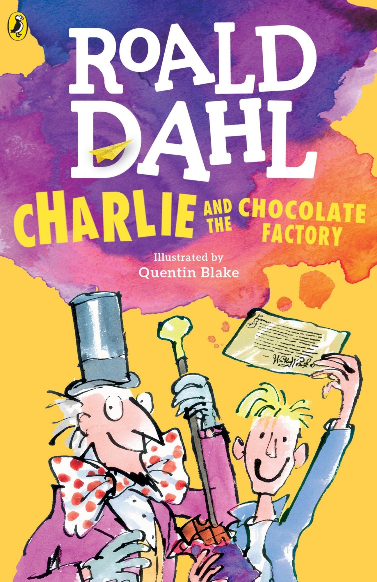 Charlie and the Chocolate Factory by Roald Dahl, illustrated by Quentin Blake