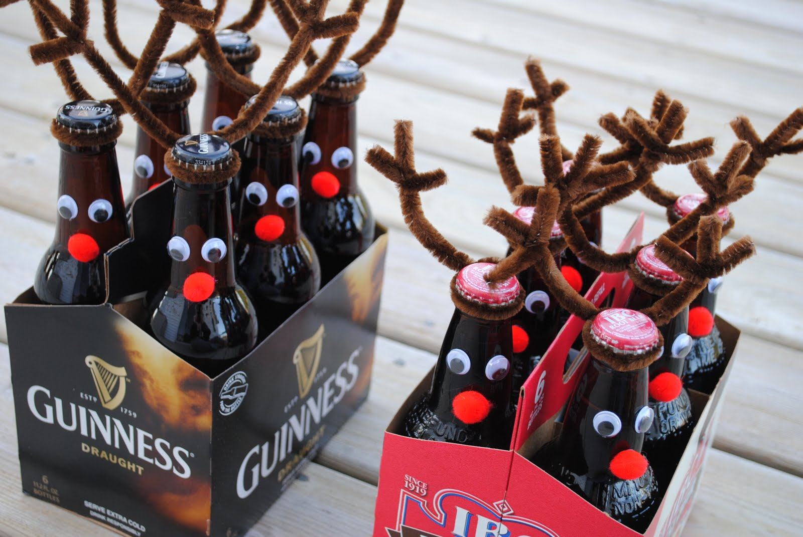 Rootbeer (Or Beer) Reindeer