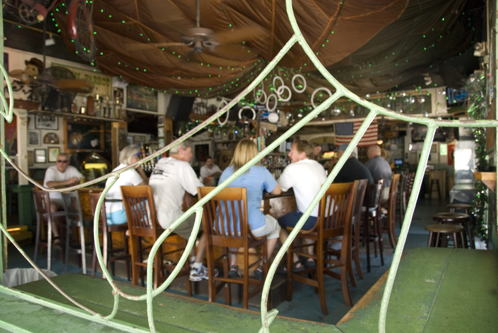 Green Parrot Bar Key West