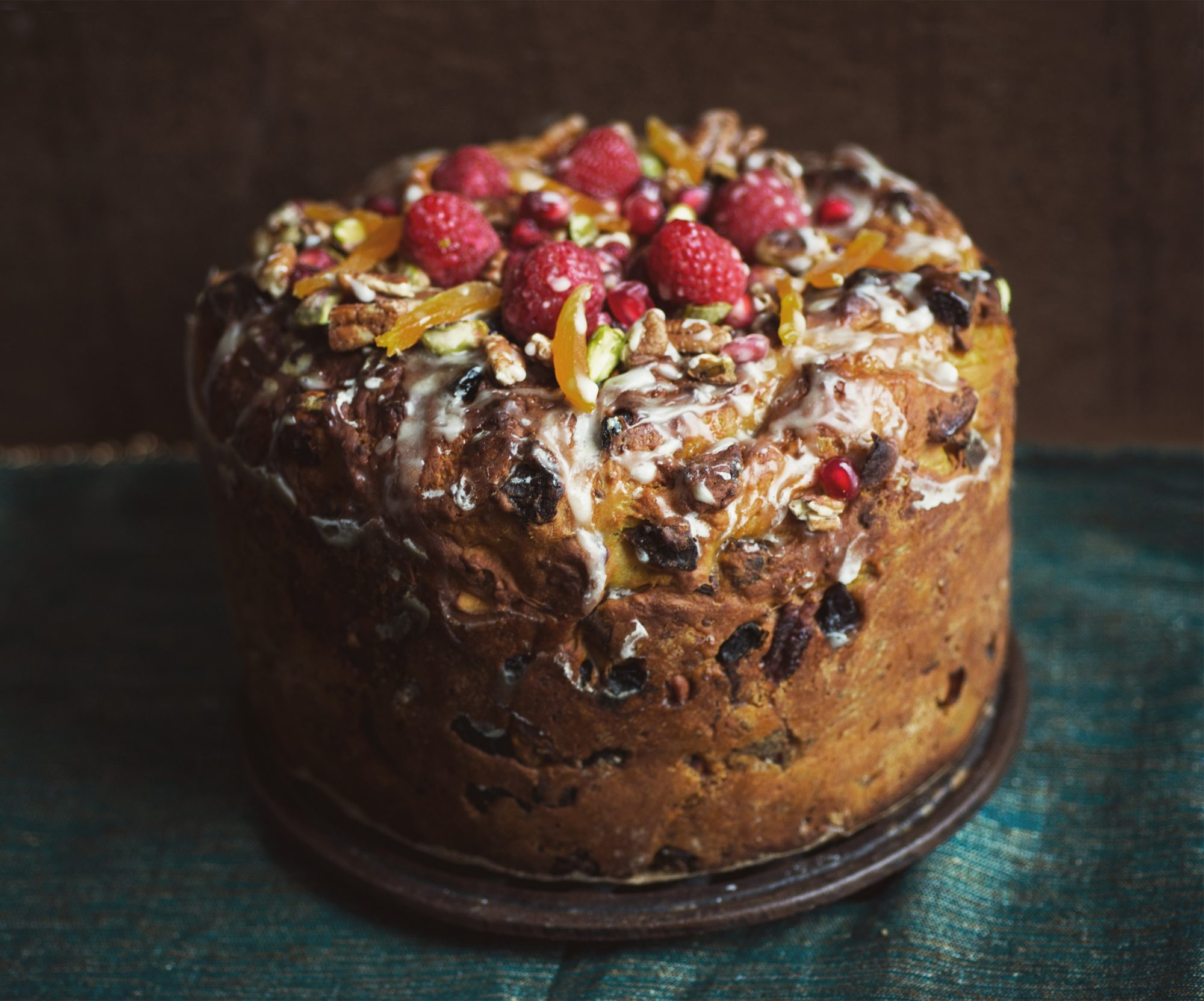 Holiday Fruitcake Gift