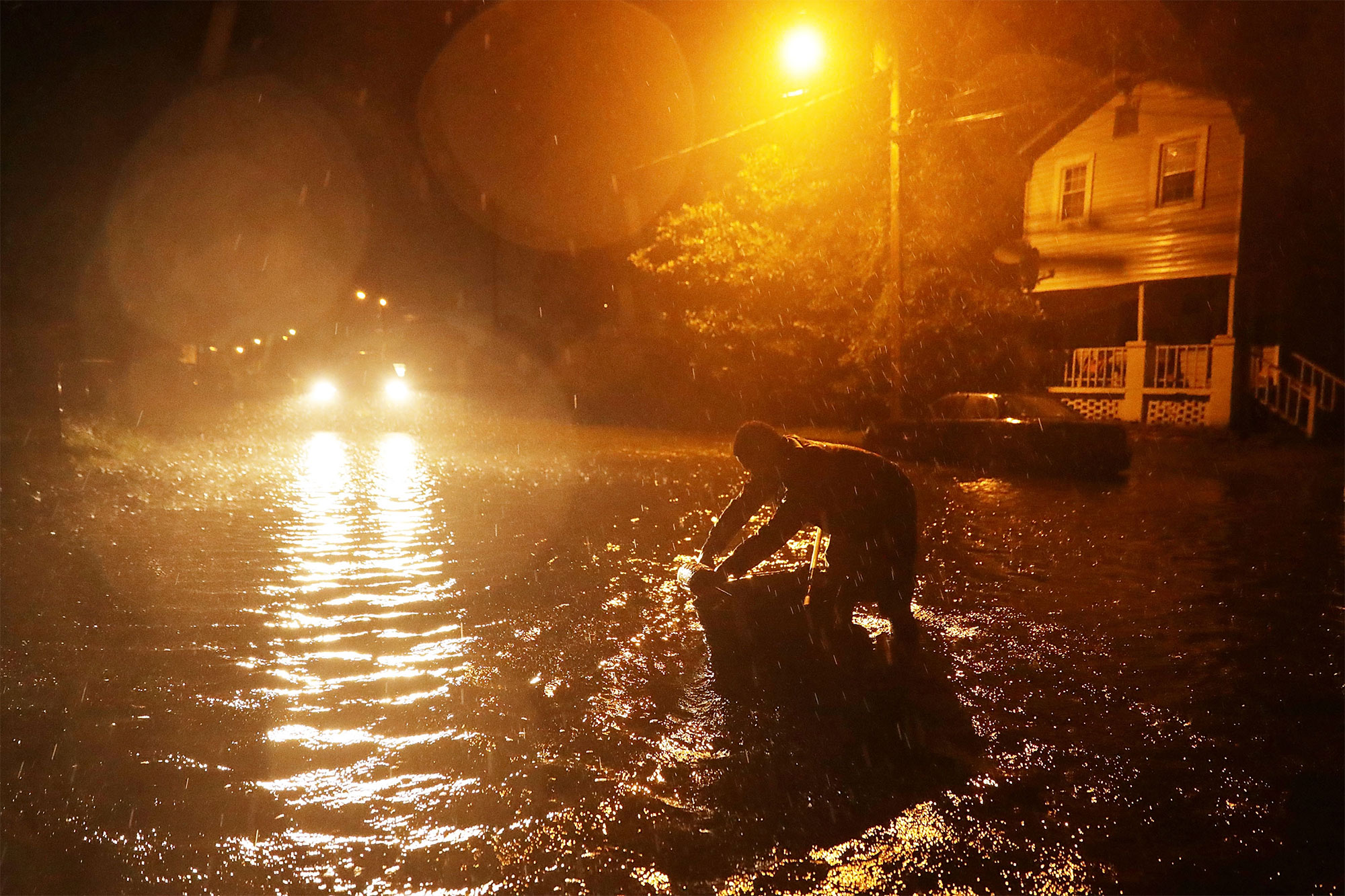 See the Most Powerful Photos as Hurricane Florence Slams North Carolina Coast