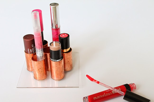 Homemade Lipstick Holder