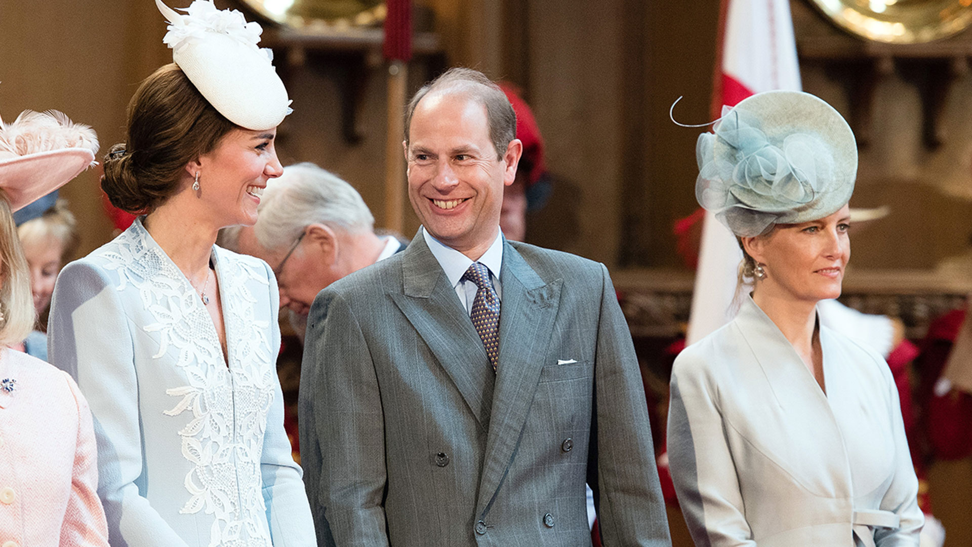 Kate Middleton and Prince Edward