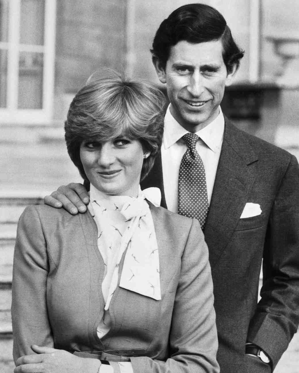 prince charles and princess diana engagement photo