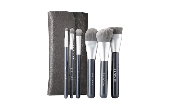 RX_1809_Charcoal_Sephora Collection Deluxe Charcoal Antibacterial Brush Set