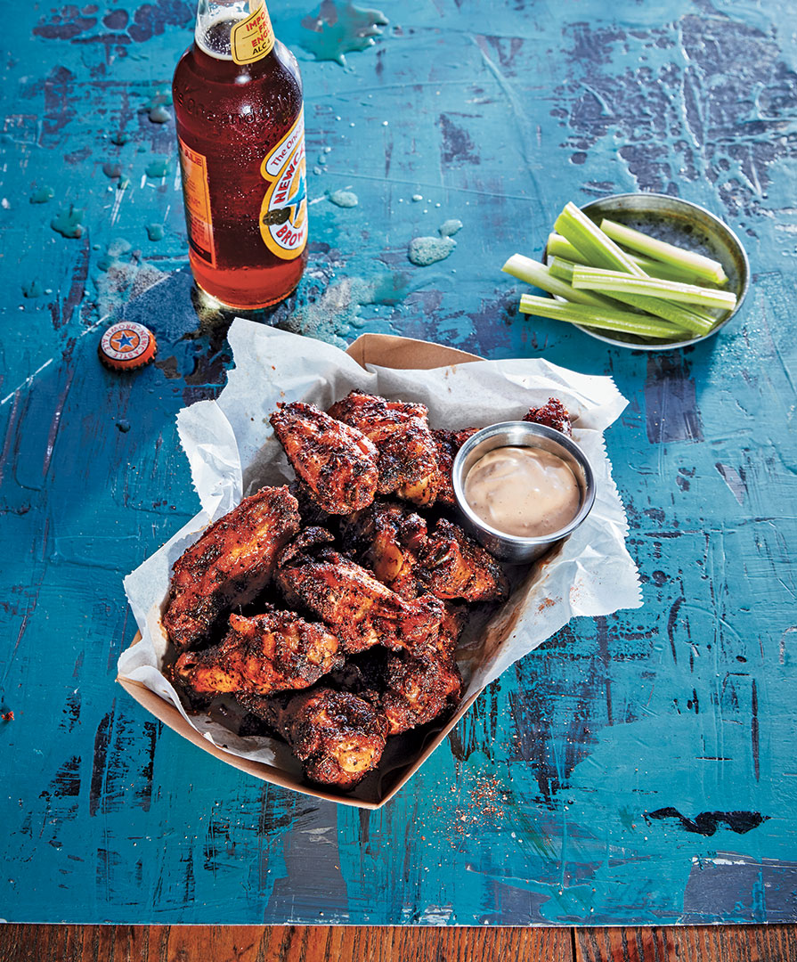 The Secret to the Best Chicken Wings