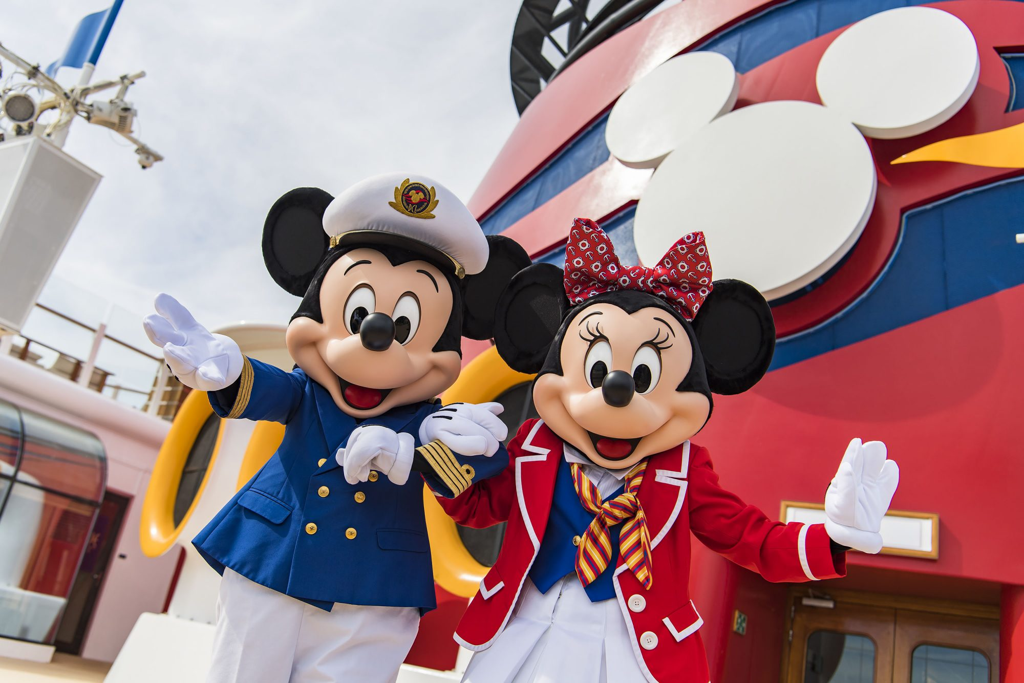 Disney Cruise Line Mickey and Minnie