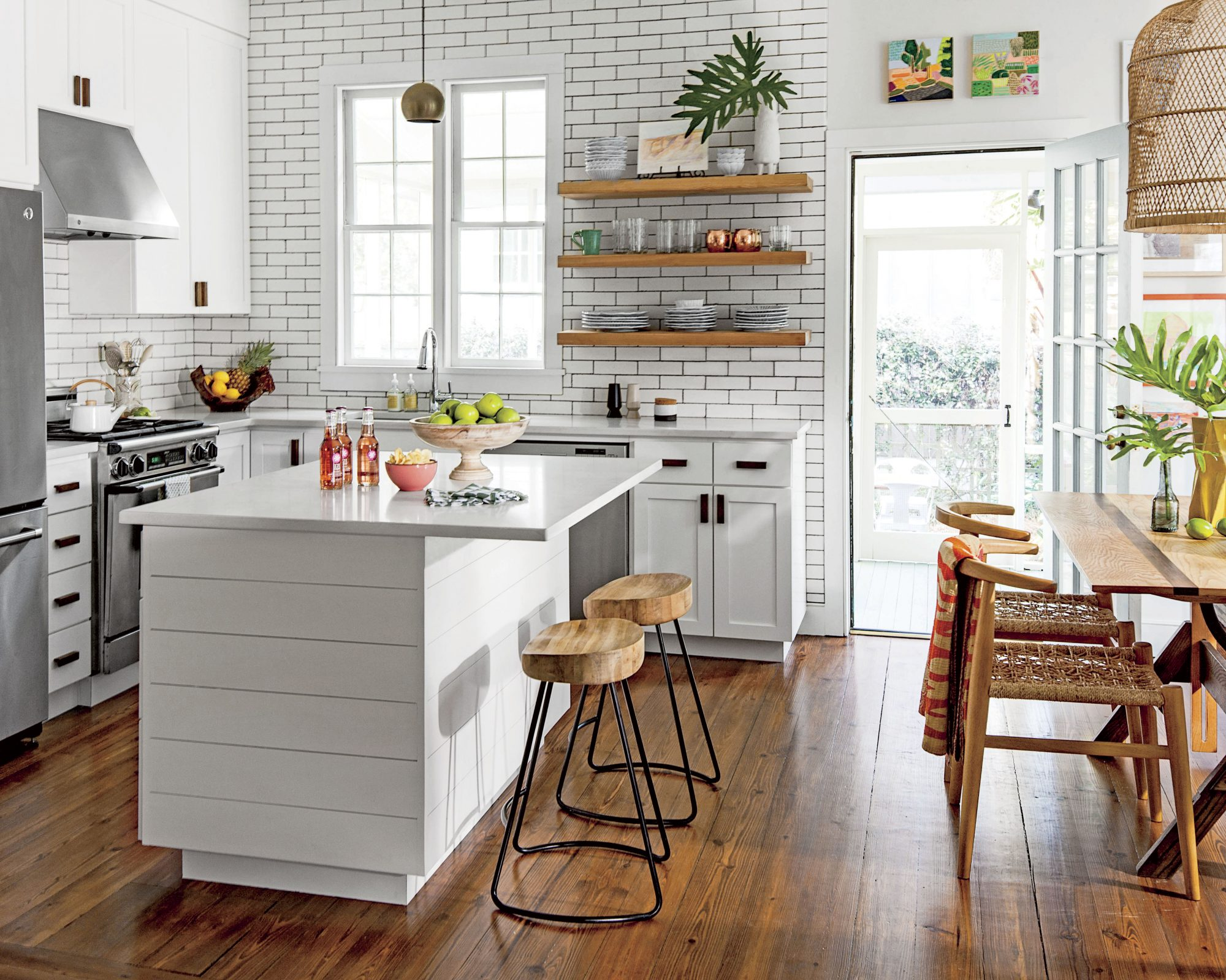 Lulie Wallace Kitchen with Quartz Countertops