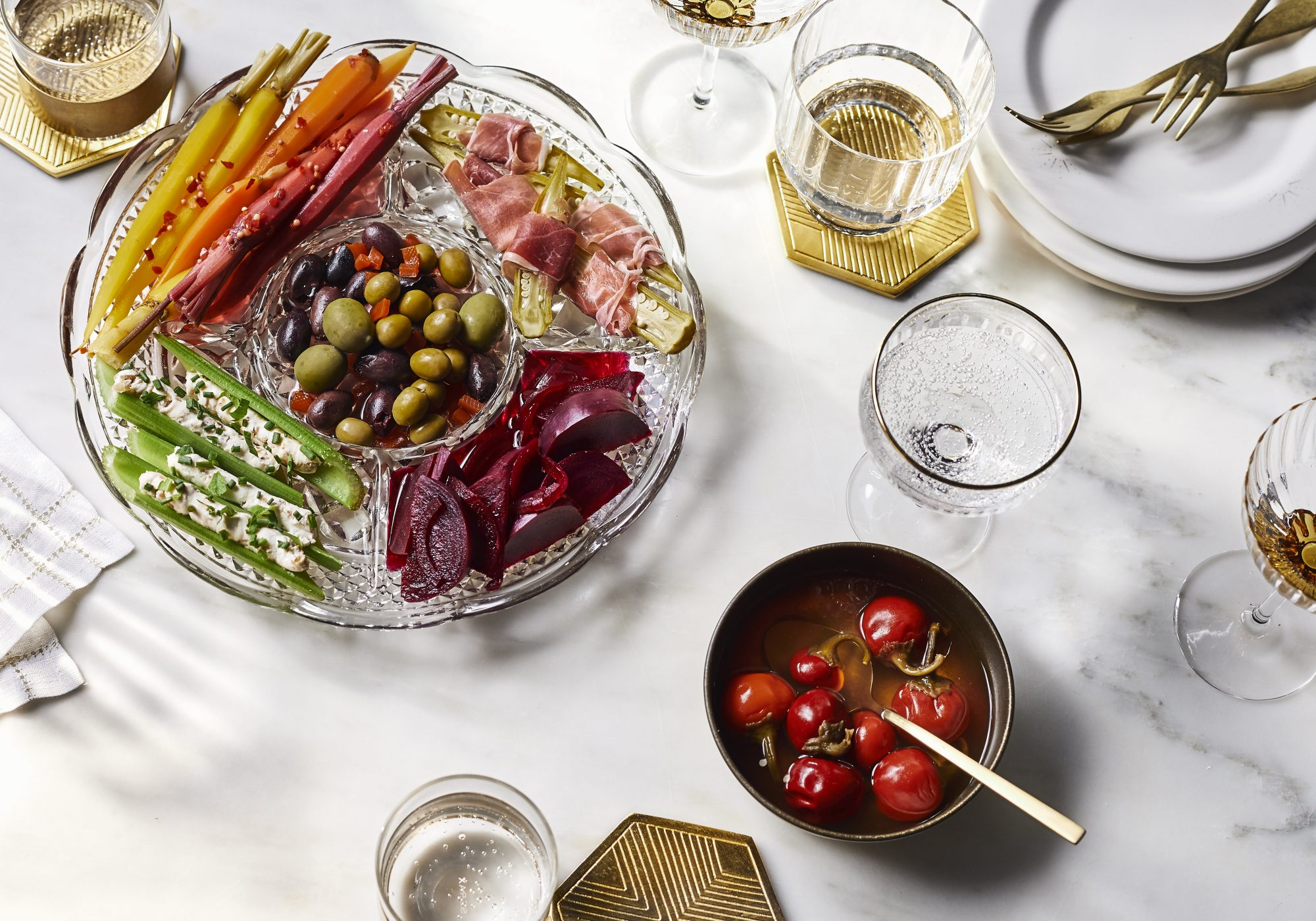 Traditional Relish Tray
