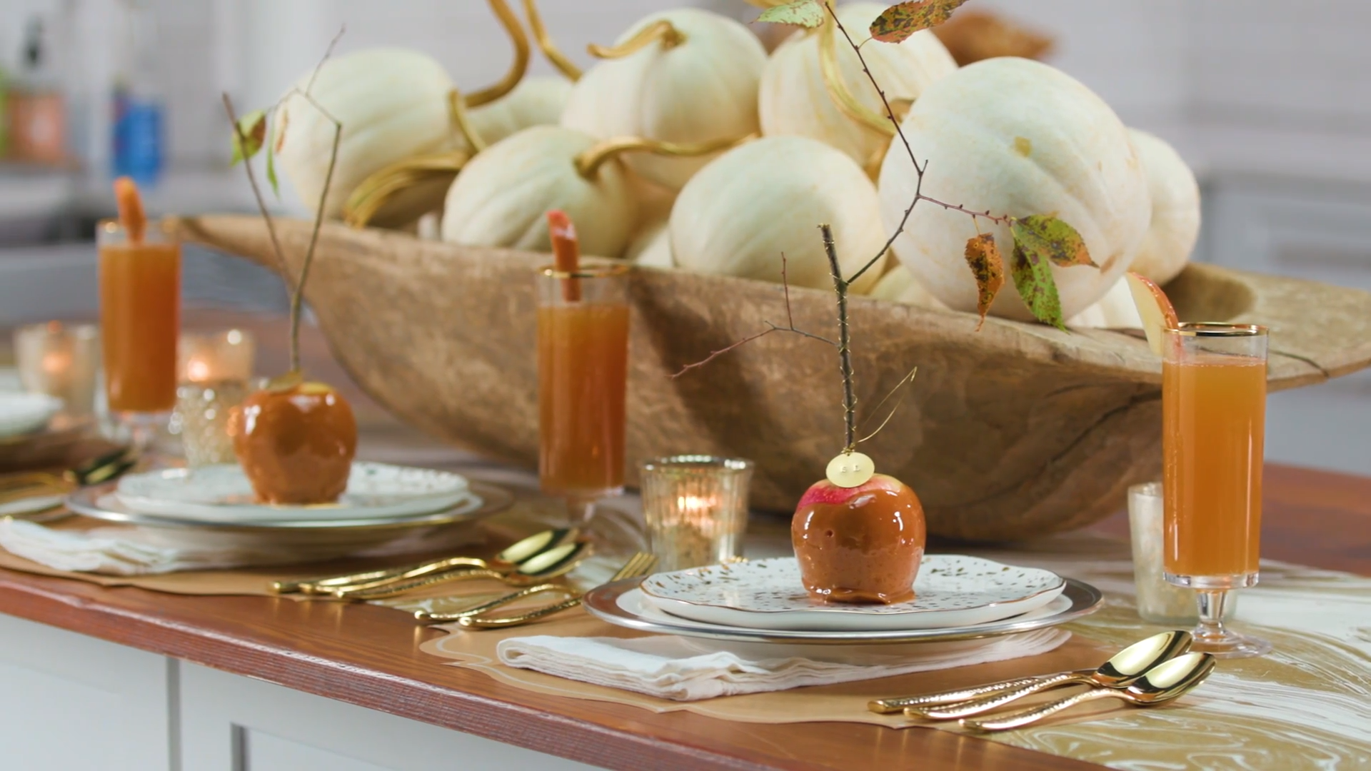 Learn to Style a Pretty Fall Table with Katie Jacobs