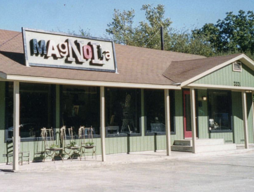 Magnolia Storefront, 15 Years Ago