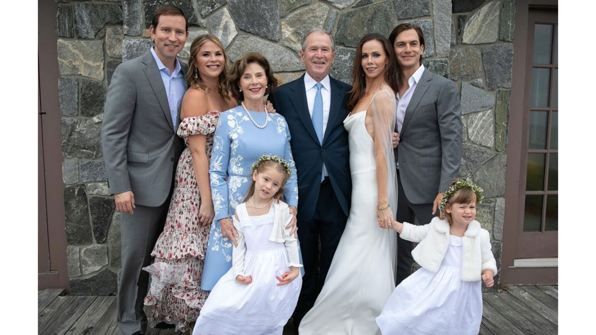 Barbara Bush Wedding Family