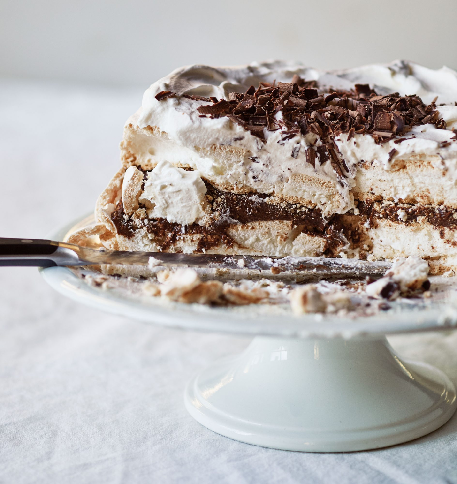 Ina Garten's Chocolate Pecan Meringue Torte Recipe