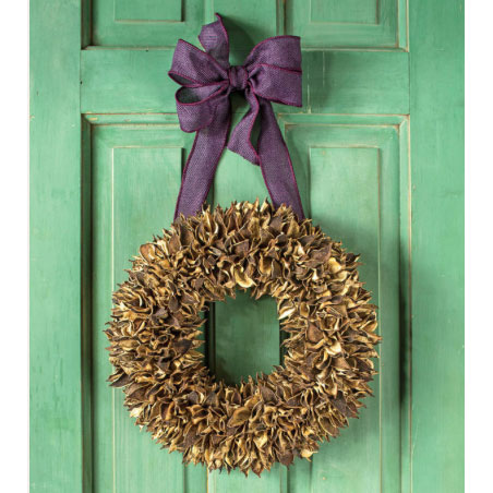 Cotton Bur Wreath