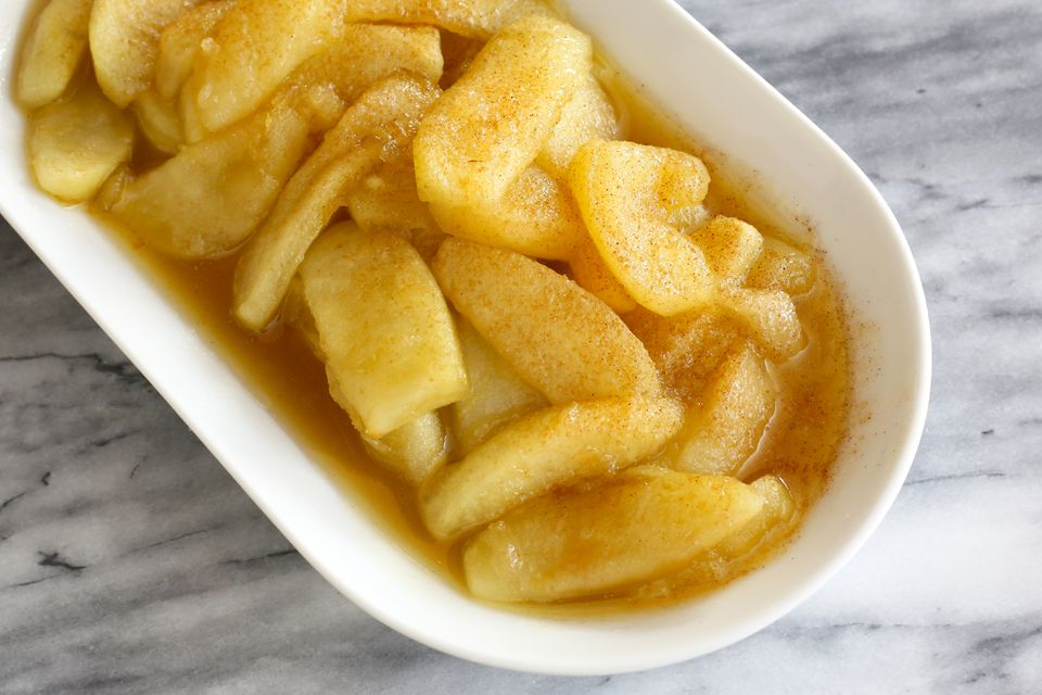 Crock Pot Fried Apple Slices