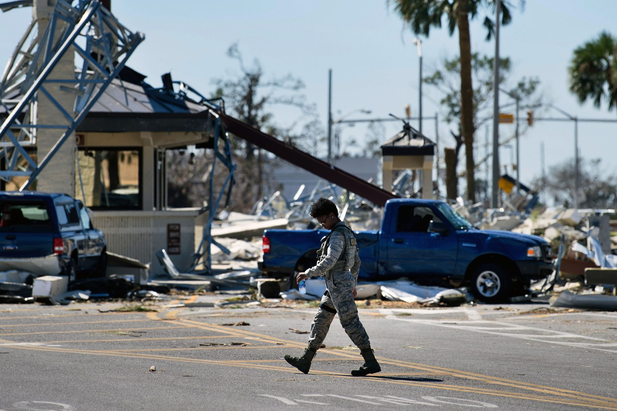Tyndall Air Force Base Hurricane Michael
