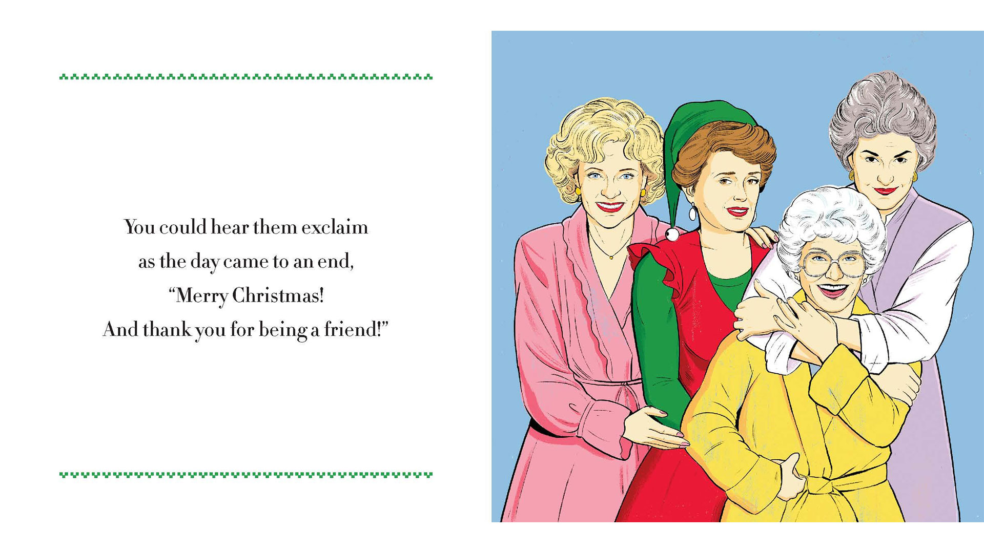 Golden Girls Christmas Book Excerpt