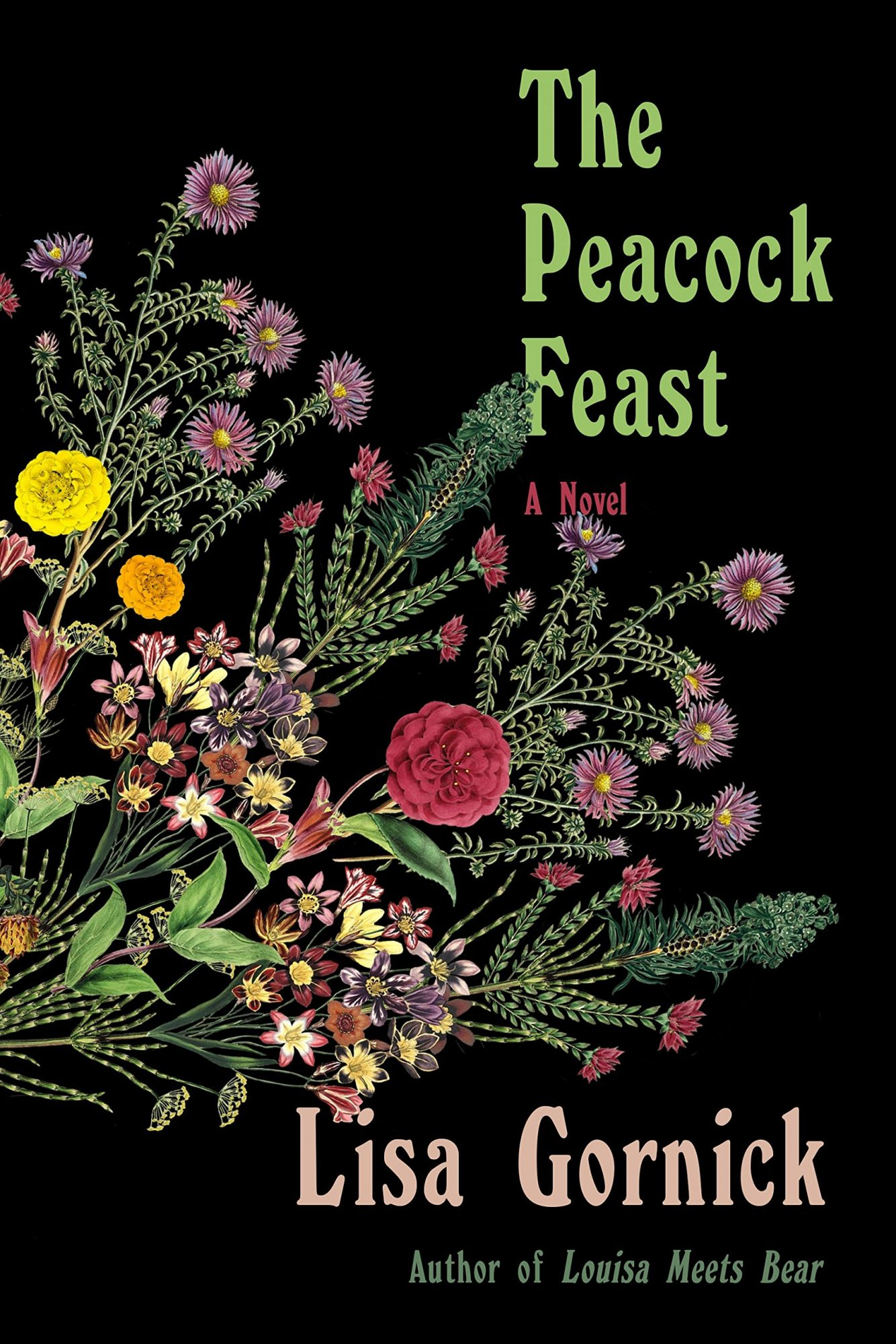 The Peacock Feast by Lisa Gornick