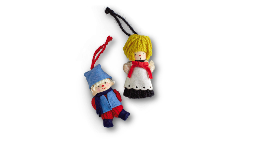 Hallmark Yarn Ornaments