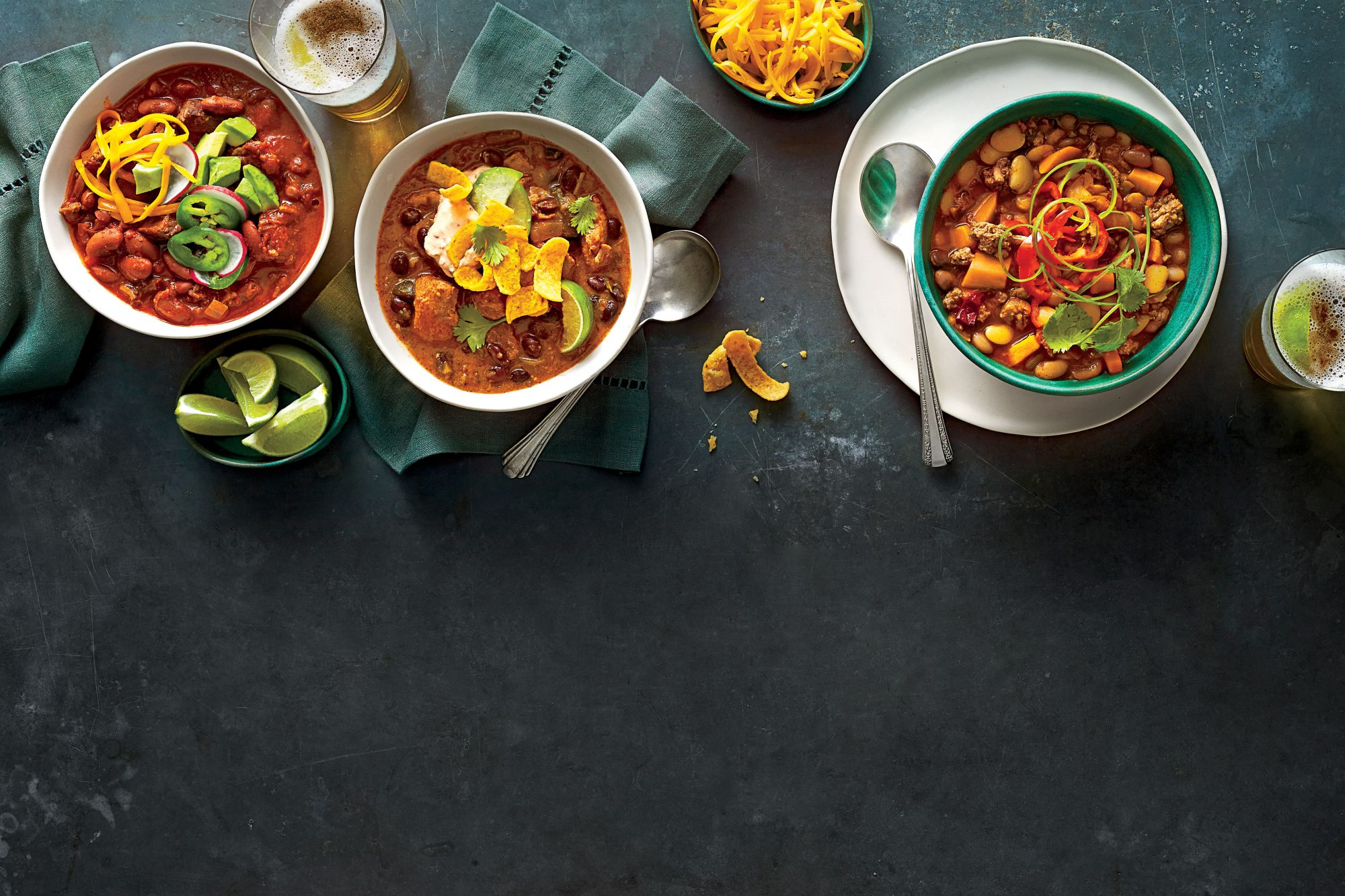 Smoky Turkey-and-Sweet Potato Chili