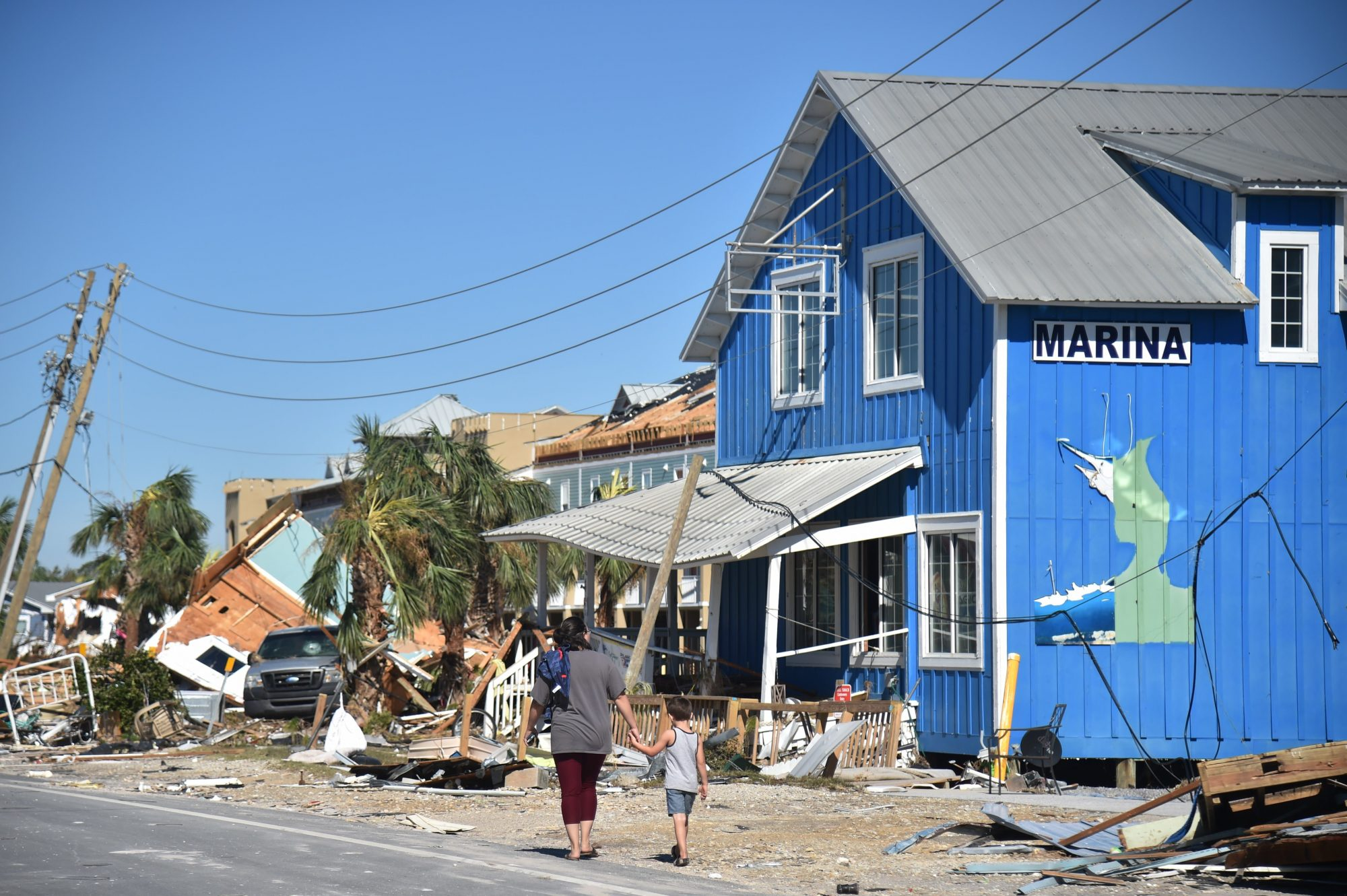 Hurricane Michael Aftermath Mexico Beach